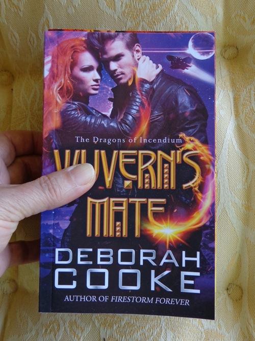 Wyvern's Mate by Deborah Cooke minibook print edition