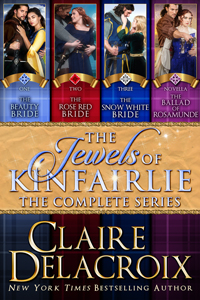 The Jewels of Kinfairlie digital bundle of Scottish medieval romances by Claire Delacroix