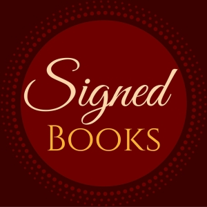 Signed Books category in Deborah Cooke's store