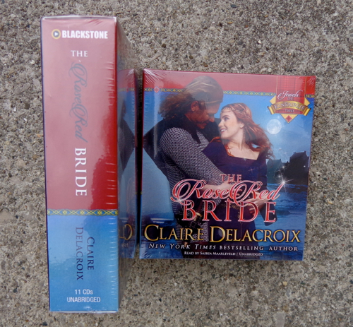 The Rose Red Bride by Claire Delacroix, Blackstone audio edition