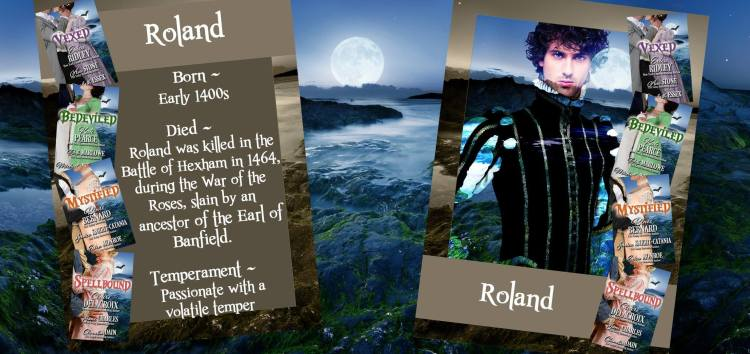 Roland, one of the ghosts of Castle Keyvnor