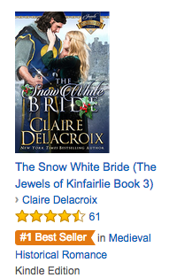 The Snow White Bride on Amazon.com on August 24, 2016