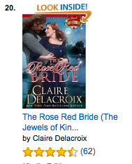 The Rose Red Bride at Amazon.com on August 24, 2016