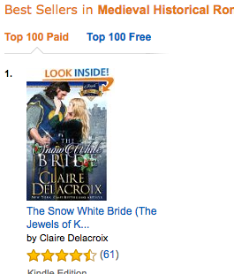 The Snow White Bride at Amazon.com on August 24, 2016