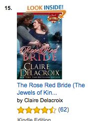The Rose Red Bride on Amazon.com on August 24, 2016