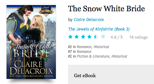 The Snow White Bride at Kobo on August 24, 2016