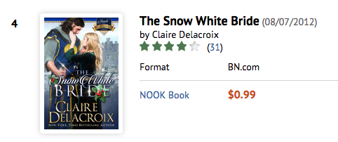 The Snow White Bride at B&N on August 24, 2016