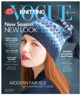 Vogue Knitting Fall 2016 issue