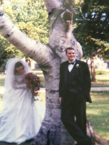 Michelle Willingham's wedding picture