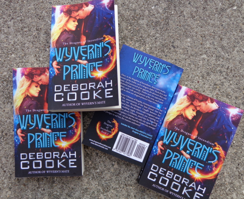 Wyvern's Prince in Print, book #2 of the Dragons of Incendium series of paranormal romances by Deborah Cooke