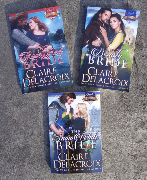 The Jewels of Kinfairlie medieval romances by Claire Delacroix in new trade paperback editions