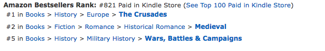 The Crusader's Bride at Amazon.co.uk on October 3, 2016
