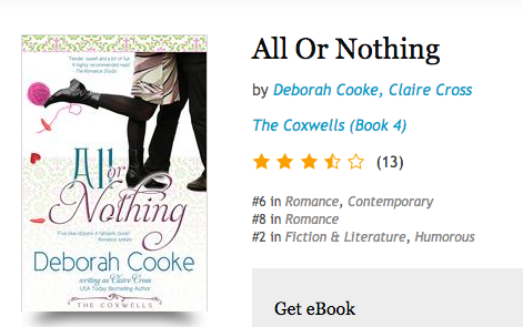 All or Nothing at Kobo on October 8 2016