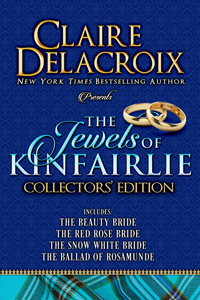 The Jewels of Kinfairlie Collectors' Edition of medieval Scottish romances by Claire Delacroix