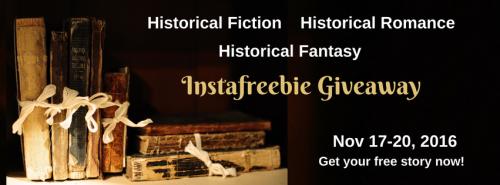 Historical Fiction Instafreebie promotion November 2016