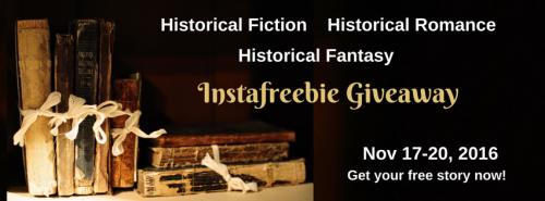 Historical Fiction Instafreebie promotion November 2016