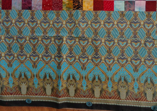 border fabric from Africa