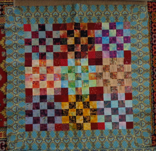 Quilt top pieced by Deborah Cooke