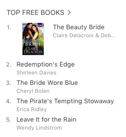 The Beauty Bride at iBooks March 23, 2017