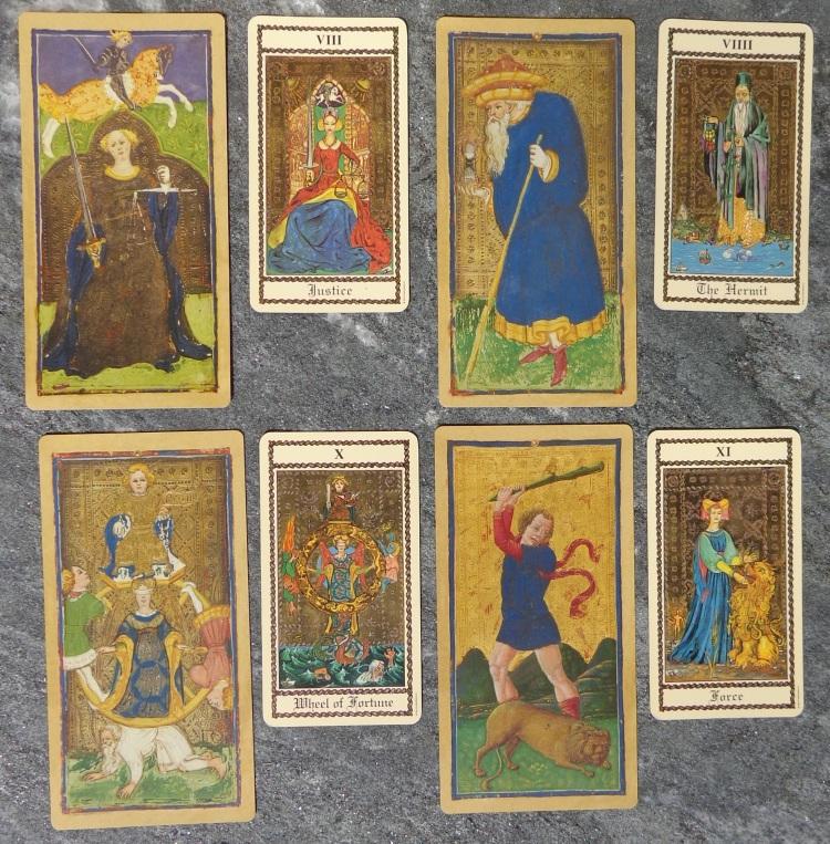 Two tarot decks compared - the Higher Arcana