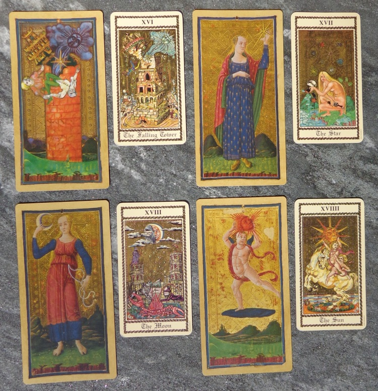 Two tarot decks compared - the Higher Arcana