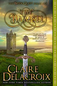 The Damsel, book #2 of the Bride Quest series of medieval romances by Claire Delacroix