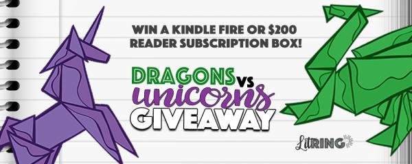 Dragons vs. Unicorns LitRing Promotion