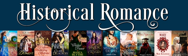 Erica Ridley's Historical Romance Promotion May 2017