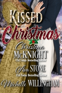Kissed at Christmas, one of the Christmas at Castle Keyvnor anthologies of Regency romances