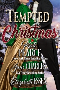 Tempted at Christmas, one of the Christmas at Castle Keyvnor anthologies of Regency romances