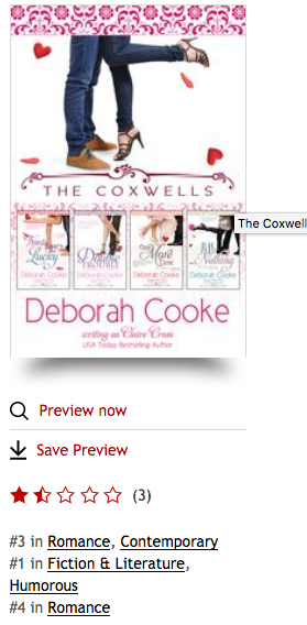 The Coxwells Boxed Set at Kobo on June 15, 2017