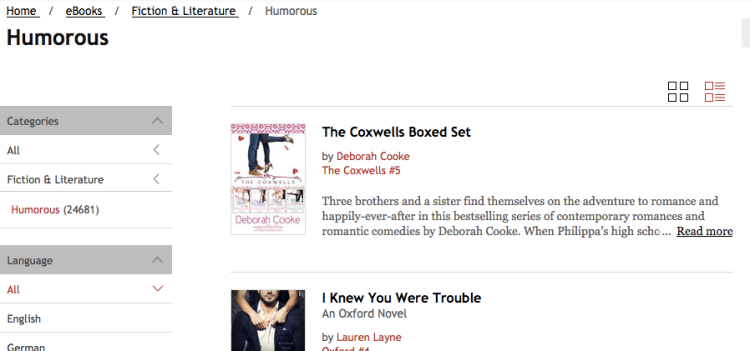 The Coxwells Boxed Set by Deborah Cooke at #1 in Humorous Fiction at Kobo on June 15, 2017