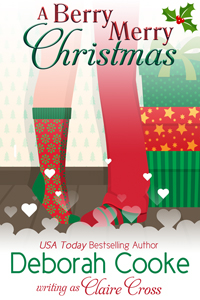 A Berry Merry Christmas, a holiday contemporary romance novella by Deborah Cooke, writing as Claire Cross
