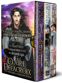 Knights in Shining Armor: Three Medieval Romances in one bundle by Claire Delacroix