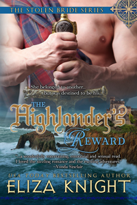 The Highlander's Reward, a medieval Scottish romance by Eliza Knight