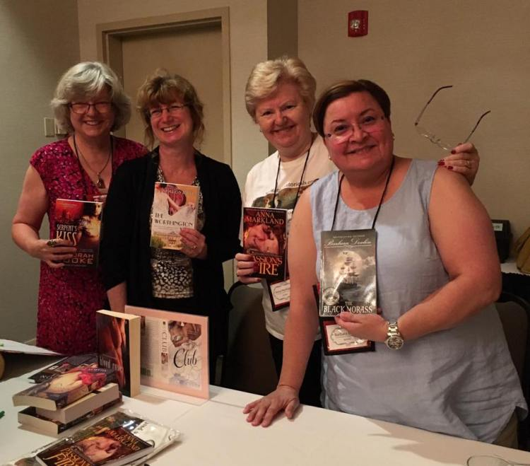 Historical Romance Panel at RTC 2017 with Claire Delacroix, Sharon Page, Anna Markland and Barbara Devlin