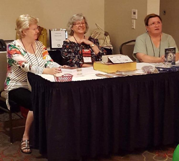 Historical Romance panel at RTC2017 with Anna Markland, Claire Delacroix and Barbara Devlin