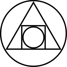 The alchemical symbol for the Philosopher's Stone, 17th century