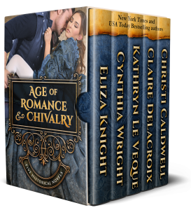 Age of Romance and Chivalry, a digital boxed set of five historical romance novels