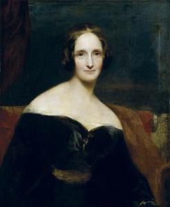 Mary Shelly by Richard Rothwell