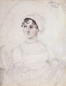 Jane Austen by Cassandra Austen