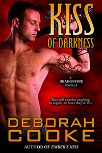 Kiss of Darkness, a Dragonfire novella and #11 in the paranormal romance series by Deborah Cooke
