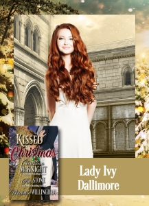 Lady Ivy Dallimore, the heroine of Ava Stone's Regency romance novella, Once Upon a Midnight Clear.