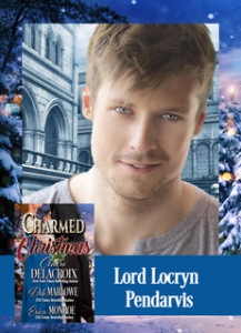 Lord Locryn Pendarvis, hero of Deb Marlowe's Regency romance novella in Charmed at Christmas