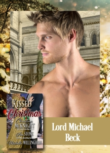 Lord Michael Beck, the hero of Ava Stone's Regency romance novella, Once Upon a Midnight Clear.