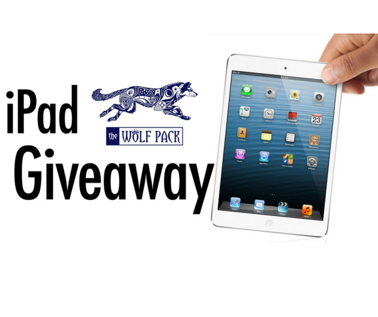 The Wolf Pack iPad Giveaway October 2018