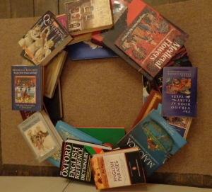 The book tree built by Deborah Cooke 2017