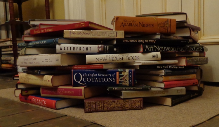 Book Tree built by Deborah Cooke 2017
