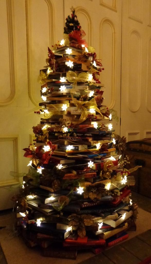 Book Tree built by Deborah Cooke 2017