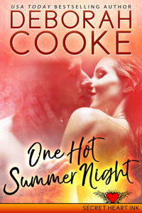 One Hot Summer Night, #3 of the Secret Heart Ink series of contemporary romances by Deborah Cooke